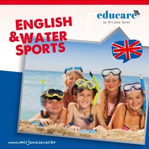 Ljetni kamp engleskog jezika i sportova na vodi